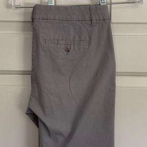 J.Crew Dark Gray Bermuda Shorts, Size 6